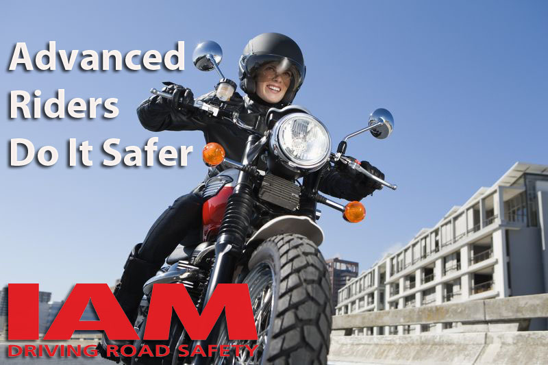 advanced motorcyclists do it safer